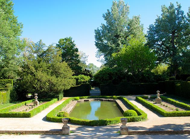 Parc et bassin des carpes