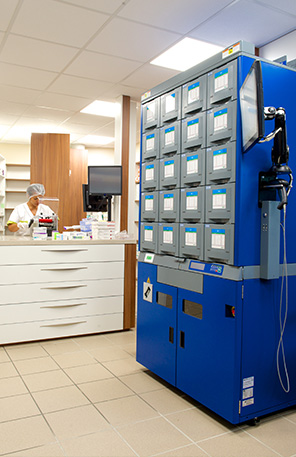 Robot à pharmacie