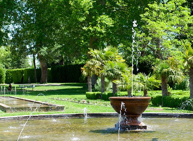 Fontaines et bassins
